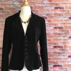Mossimo black velvet blazer